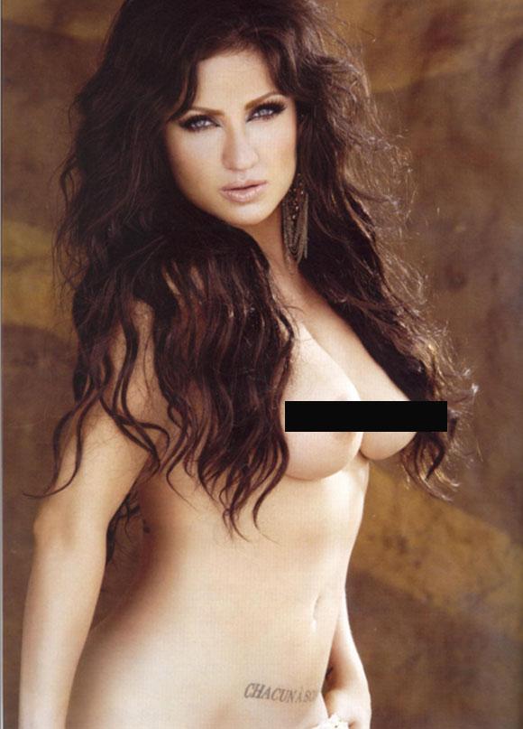 Celia Lora Se Desnuda Para Playboy Sinembargo Mx