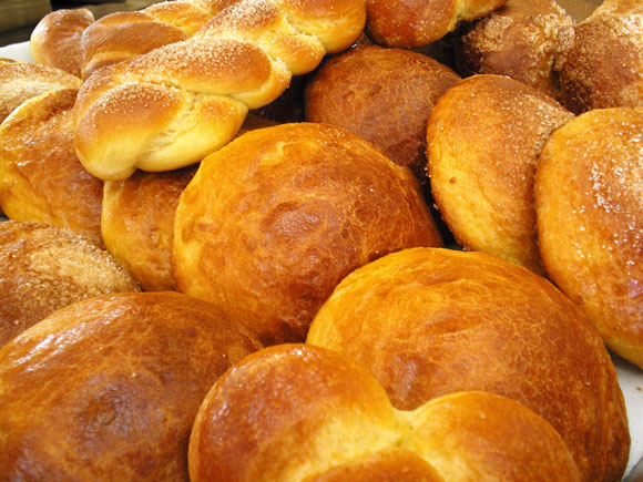 Pan de pulque, parte de la comida típica de Coahuila.