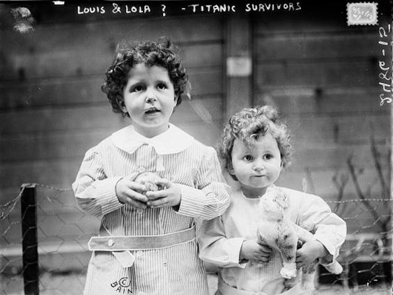 20 FOTOS DE LOS SOBREVIVIENTES DEL TITANIC