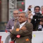 AMLO convocó a marchar este domingo.Foto:Cuartoscuro.