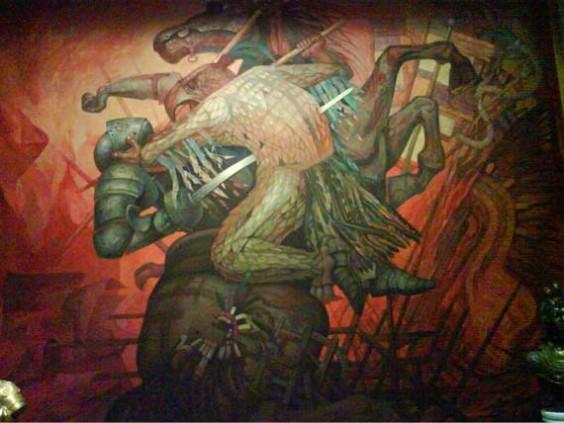 Los 68 a os del castillo de chapultepec murales for El mural de siqueiros pelicula