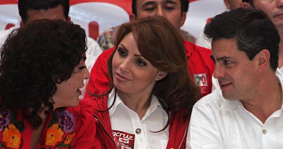 ¿De cuánto es la deuda de Yucatán? No está claro; pero Ivonne Ortega ni se preocupa: su familia, a salvo Ivonne-gaviota-y-epn