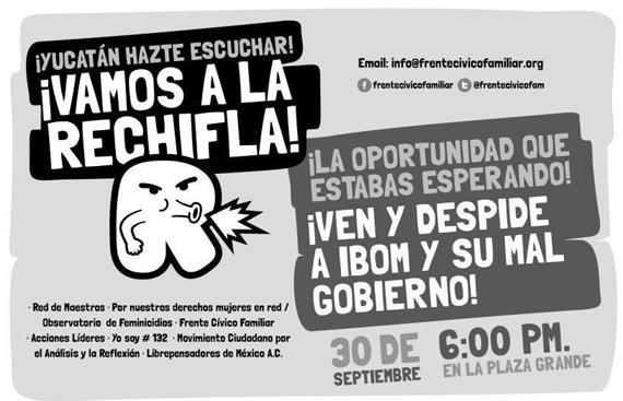 ¿De cuánto es la deuda de Yucatán? No está claro; pero Ivonne Ortega ni se preocupa: su familia, a salvo Ivonne-rechifla
