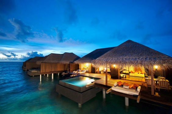 7 impresionantes hoteles que te har n decir wow for Cabanas sobre el mar en mexico