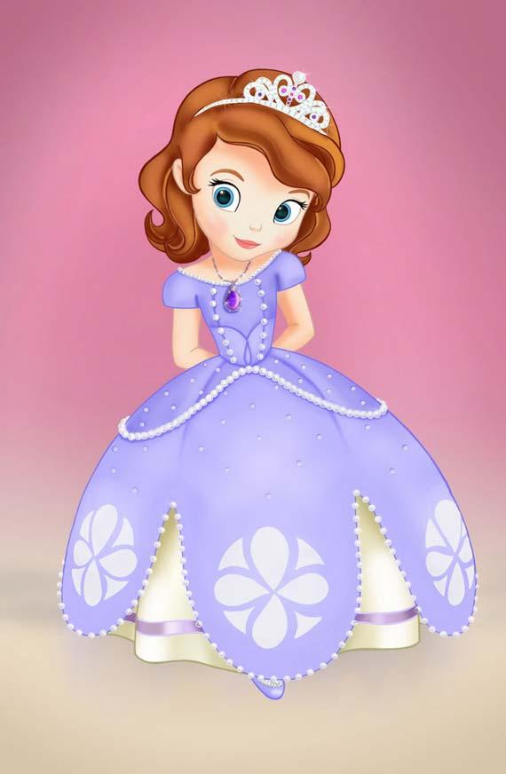 Disney Presenta A La Princesa Sof  A  Una Supuesta    Latina Blanca