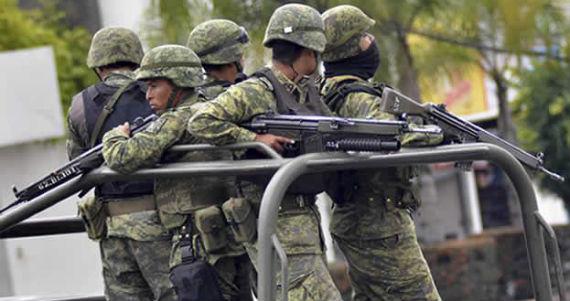 La guerra contra el narcotráfico del ex Presidente Calderón causó miles de muertes. Foto: Cuartoscuro