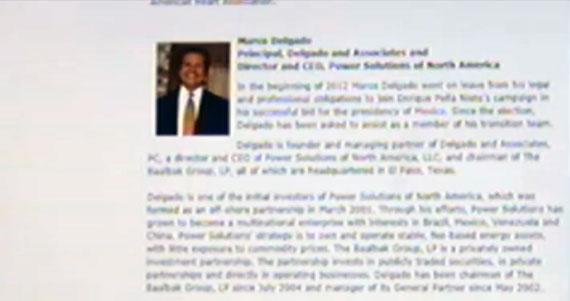 Fotograma tomado de la televisión