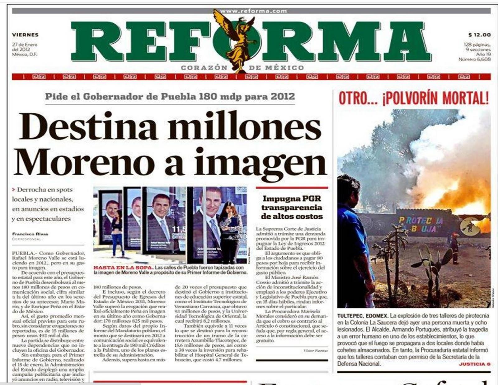 Reforma for Ultimas noticias del espectaculo internacional