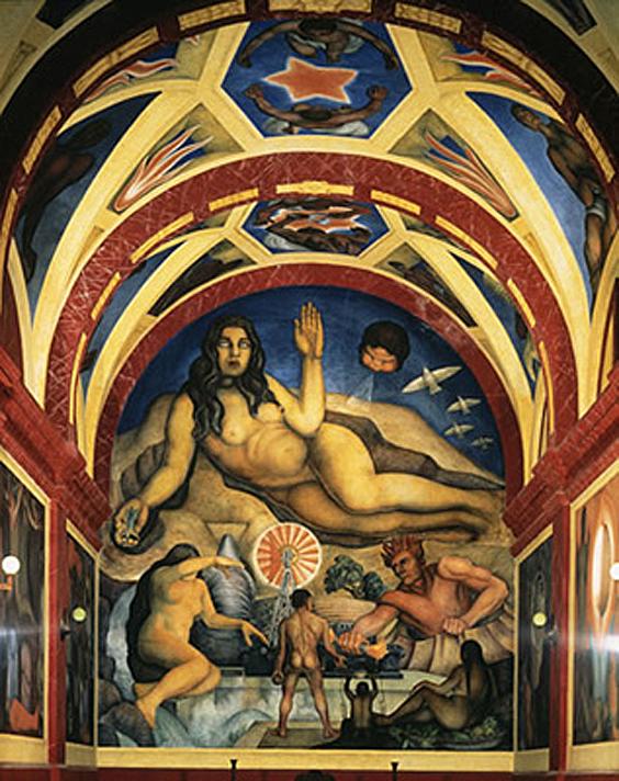 5 Obras Poco Conocidas Del Muralista Diego Rivera