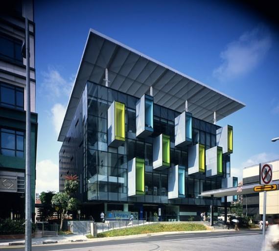 8 ejemplos de arquitectura sustentable for High tech arquitectura