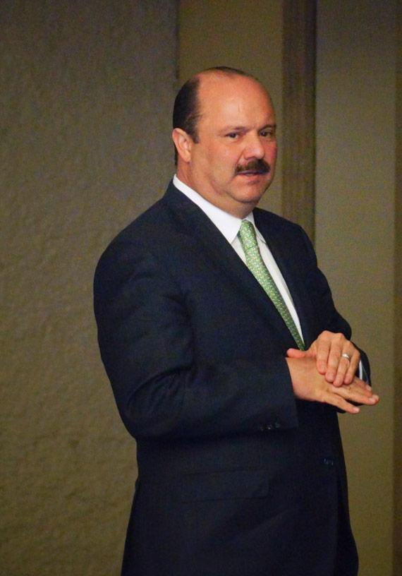 El Gobernador de Chihuahua, César Duarte ha dicho que la deuda del estado fue heredada. Foto: Cuartoscuro