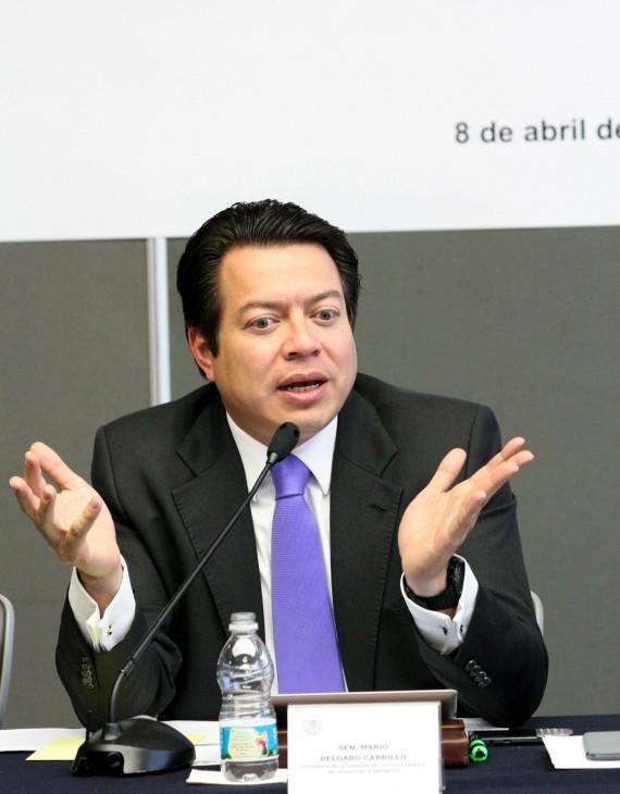 Mario Delgado anunció su salida del PRD. Foto: SinEmbargo, especial