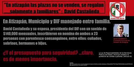 En Facebook se creó una página para denuncias en Atizapán de Zaragoza. Foto: Facebook