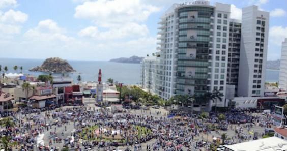 Desquiciaron Acapulco. Foto: Notimex