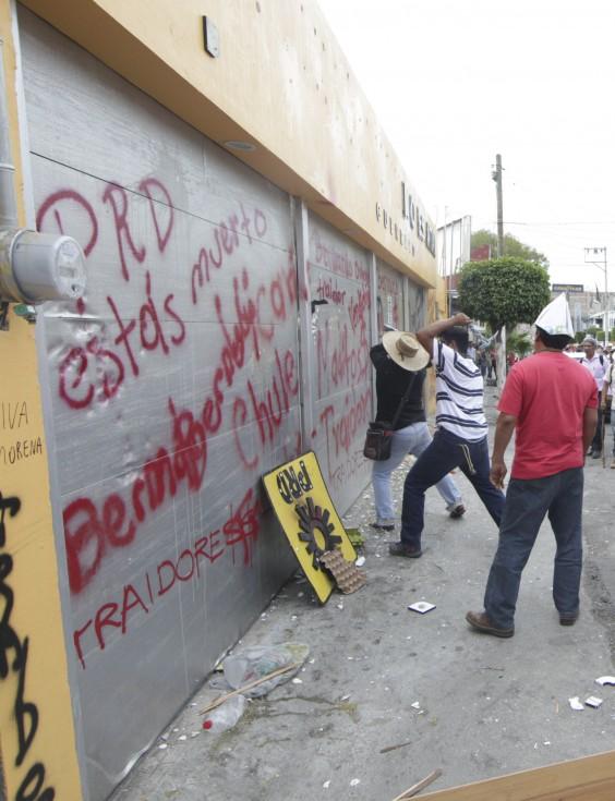 Protestas en Chilpancingo, Guerrero. Foto: Cuartoscuro