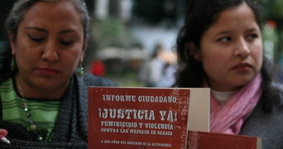 Oaxaca es otra de las entidades donde las mujeres exigen alerta de género. Foto: Cuartoscuro