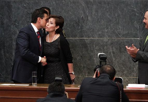 Senador del PRD pide que una Comisión se dedique solamente a evaluar la Cruzada Contra el Hambre. Foto: Antonio Cruz, Sin Embargo.
