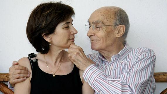 """""""Pilar es mi pilar"""", solía decir José Saramago (Foto: EFE)"""