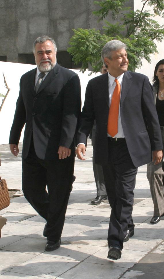 Julio de 2005. Un año antes de las elecciones que puso todo a prueba. Foto: Cuartoscuro