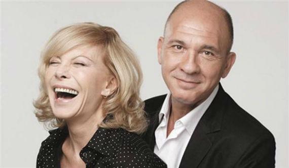 Cecilia con el actor argentino Darío Grandinetti (Foto: Especial)