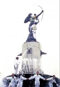 La primera campaña del organismo en México se realizó en mayo de 1993: Foto: Greenpeace