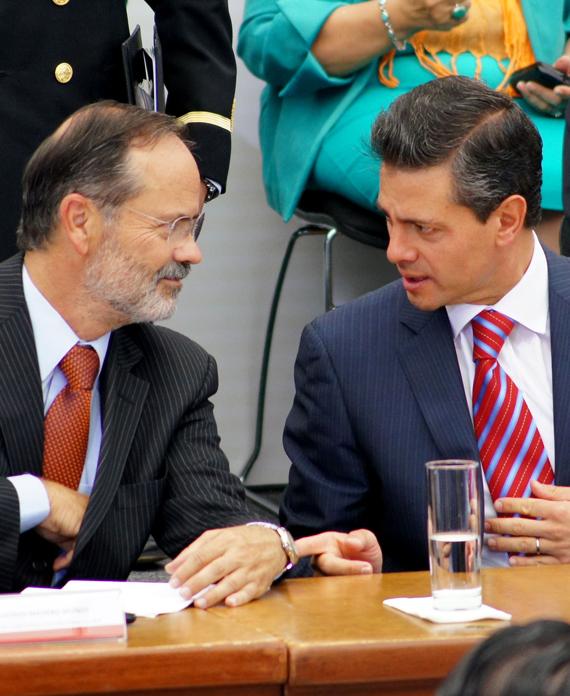 El Madero exitoso: el del Pacto por México. Foto: Rebeca Argumedo, SinEmbargo