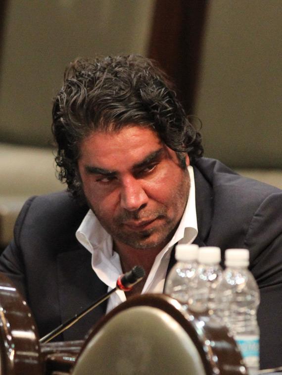 En octubre de 2011 fue señalado por llegar en estado de ebriedad a la Cámara de Diputados. Foto: Cuartoscuro