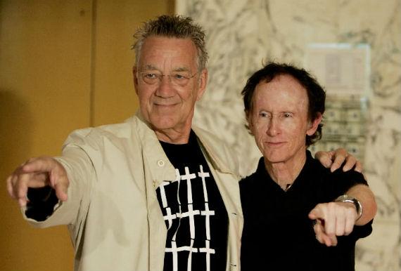 Manzarek y Krieger (Foto: EFE)