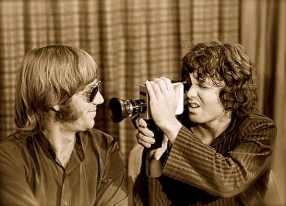 Con Jim Morrison (Foto: Especial)