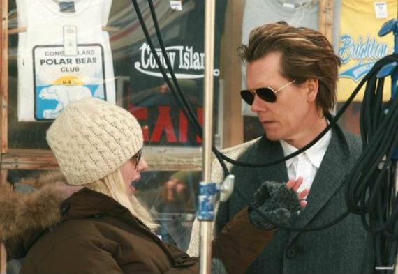 Dirigiendo a Kevin Bacon (Foto: Especial)