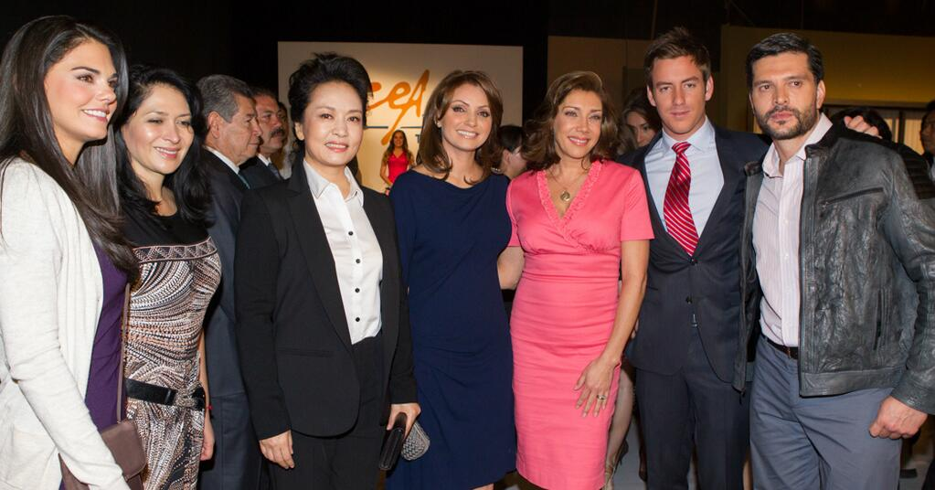 ... China, amantes de las telenovelas, se reúnen con actores de Televisa