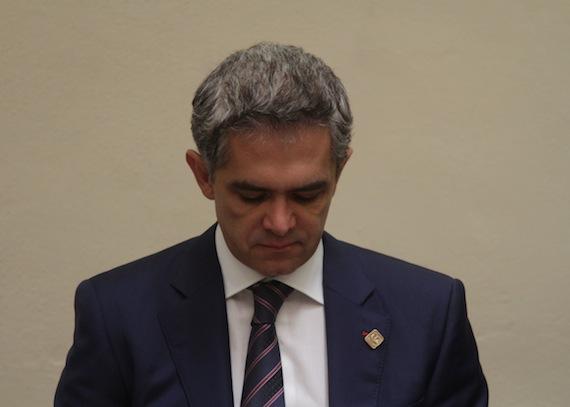 El perfil del Jefe de Gobierno del Distrito Federal, Miguel Ángel Mancera, y su gabinete es policial. Foto: Cuartoscuro