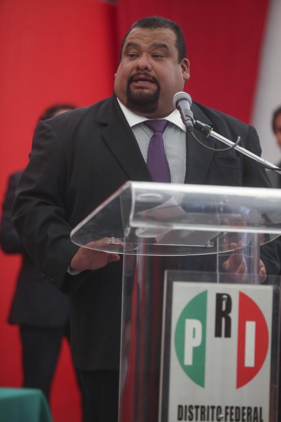 Cuauhtémoc Gutiérrez de la Torre, el Rey de la Basura. Foto: Cuartoscuro