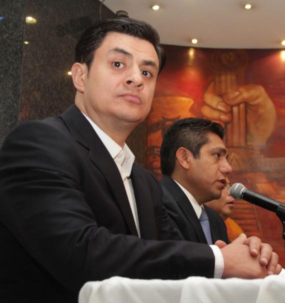 José María Martínez y Jorge Luis Preciado. Foto: Cuartoscuro