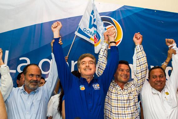 En julio de 2013, Kiko se convirtió en Gobernador de Baja California por el PAN; el partido busca este año recuperarse en Nayarit y Coahuila. Foto: Cuartoscuro