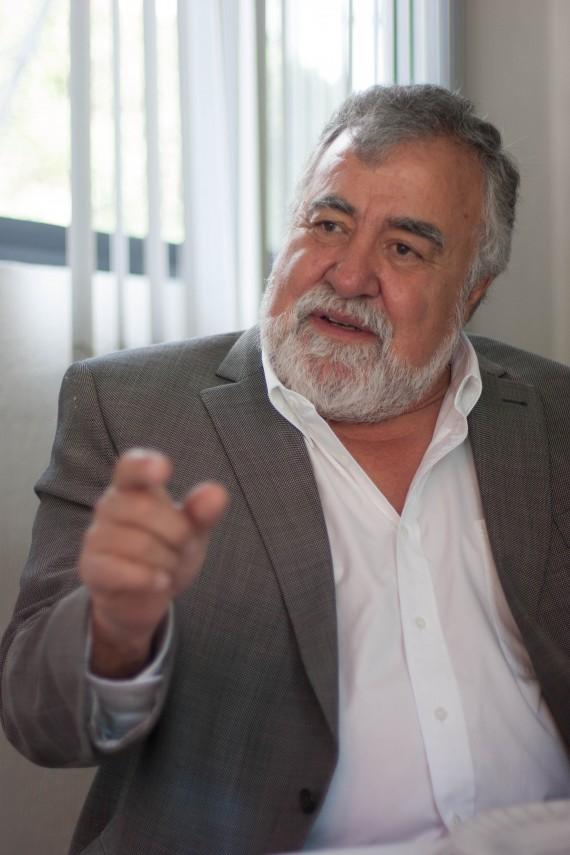 Senador Alejandro Encinas. Foto: Francisco Cañedo, SinEmbargo