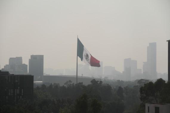 La contaminación en México. Foto: Cuartoscuro
