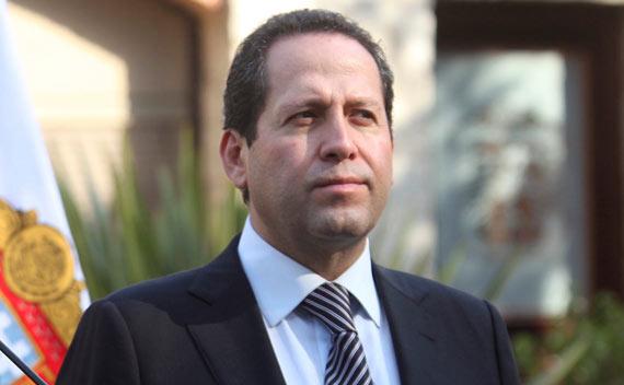 El Gobernador mexiquense Eruviel Ávila Villegas. Foto: Cuartoscuro