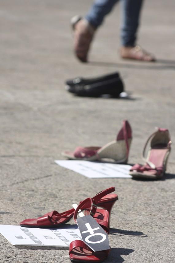Manifestación contra feminicidios en Cuernavaca, Morelos. Foto: Cuartoscuro