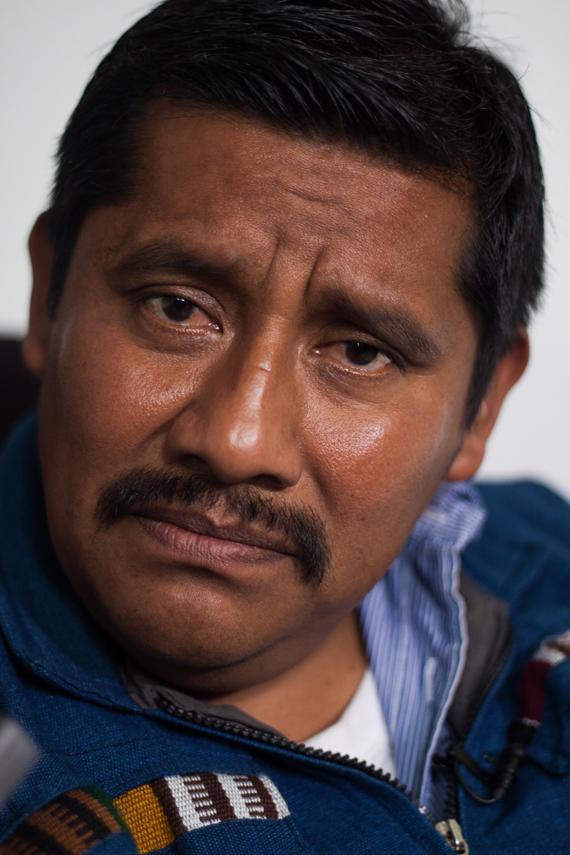 """Alberto Patishtán, """"el profe"""".  Foto: Antonio Cruz, SinEmbargo"""