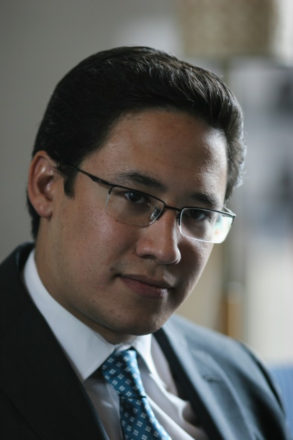 Everardo Padilla, el nuevo dirigente de Acción Juvenil. Foto: Francisco Cañedo, SinEmbargo