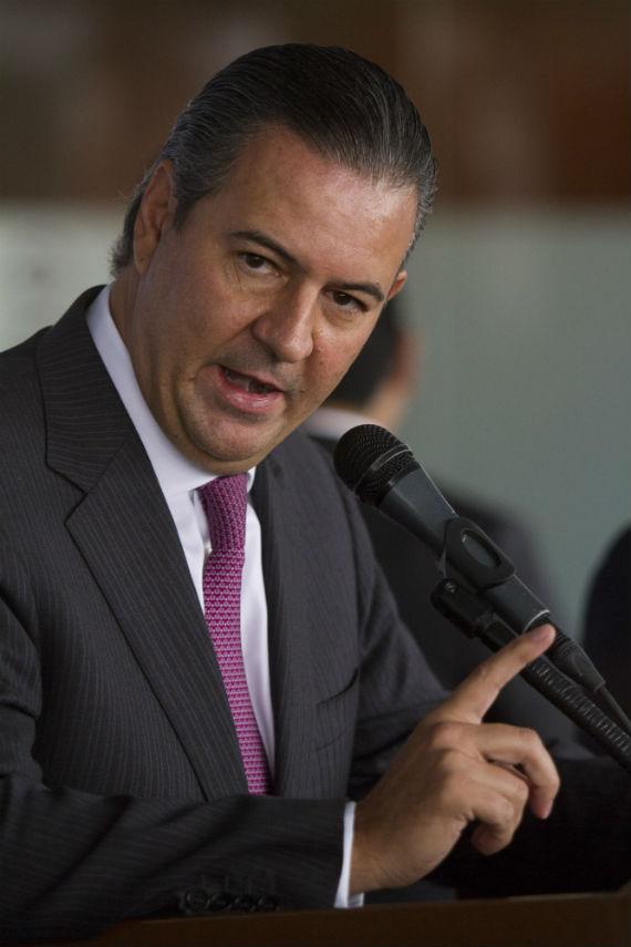 Gerardo Gutiérrez Candiani, presidente del CCE. Foto: Cuartoscuro.