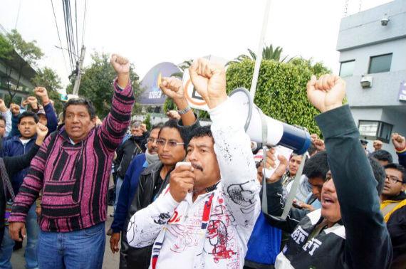 Protestas en México. Foto: Rebeca Argumedo, SinEmbargo