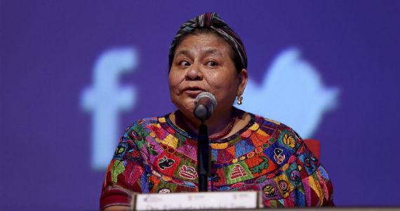 Rigoberta Menchú es una de las premio Nobel que participó en la comisión. Foto: Cuartoscuro