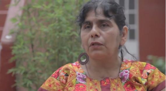 Silvia Pérez Yescas, activista amenazada de muerte por su trabajo social. Foto: Youtube