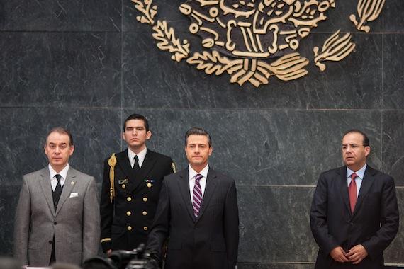 """El Presidente Enrique Peña Nieto aseguró que """"somos el cuarto país con menor desocupación entre los países con mayor desarrollo"""". Foto: Francisco Cañedo, SinEmbargo"""