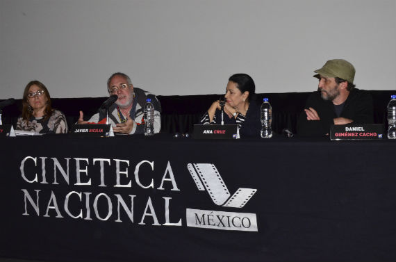 Presentación del documental en la Cineteca Nacional. Foto: María José Martínez, Cuartoscuro