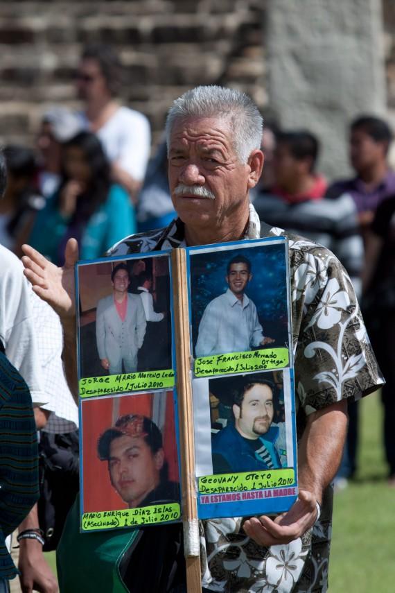 "Nepomuceno Moreno no ""es un blanca paloma"", avisaron autoridades a activistas. Foto: Cuartoscuro"