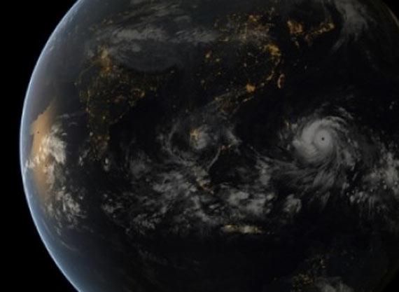 Así se ve desde el espacio. Foto: NASA