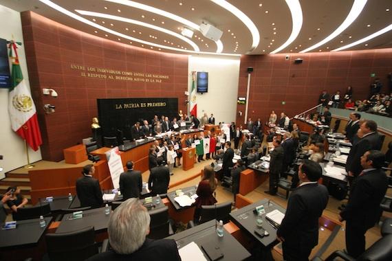 Cámara de Senadores. Foto: Francisco Cañedo, SinEmbargo